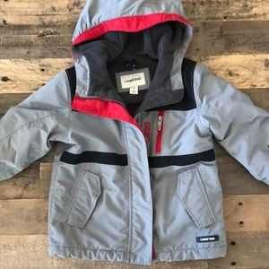 Lands End Boys Squall Waterproof Winter Jacket